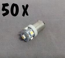 N. 50 LED LAMPE LIGHT BULBS TYPE GE44 6,3V 5SMD FOR ALL FLIPPER PINBALL