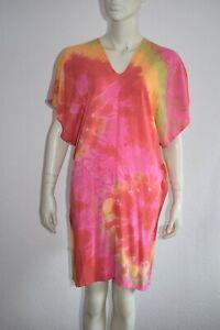 WASABI & BESS ⭐ Strandtunika Tunika Kleid in Regenbogen Farben 🌈 OS