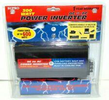 Supro 300 WATT Power Inverter DC to AC Power Surge up to 300 Watts up to 600 NEW