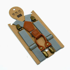 Basic Infant-Dong Braces Suspdenders strap 8133  Gray