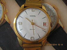 Rare early Wostok cal.2214 wristwatch in top condition on nice bracelet,50y/XXc