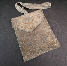 Vintage 1920's Art Deco beadwork purse, evening bag