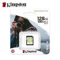 Nuevo Kingston 128GB Canvas Select Plus SDXC C10 UHS-I Flash Tarjeta de Memoria