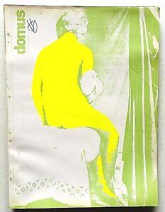Domus n. 505 dicembre 1971 Rivista Architettura Ernesto Griffini Kengiro Azuma