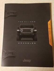 2018 Jeep Wrangler JL Sales Brochure Catalog 104 Page Masterpiece