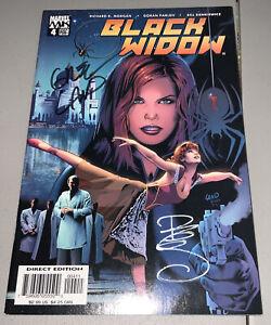 Black Widow #4 Marvel 2005 Signed Bill Sienkiewicz & Greg Land MOVIE