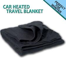 Zone Tech Car Heated Polar Fleece Electric 12V Portable Warm Travel Blanket