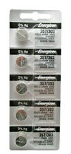 Energizer 357/303 Silver Oxide Coin Cell Batteries SR44SW 5 Pack USA SELLER