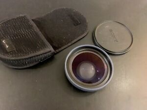 Sony VCL-MHG07A X0.7 Wide End Conversion Lens with case