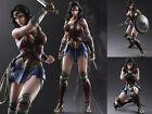 Play Arts Kai DC Comics Batman V Superman Dawn Of Justice Wonder Woman Figure