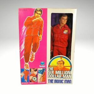 NRFB KENNER 1970'S THE SIX MILLLION DOLLAR MAN BIONIC MAN COL STEVE AUSTIN DOLL