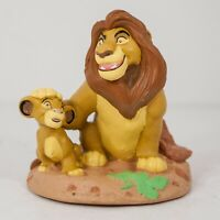 "The Lion King Mufasa & Baby Simba Disney Store Classics 3.5"" PVC Figure"