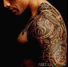 Large Temporary Body Art Arm Left Shoulder Tattoo Sticker Man Women Waterproof b