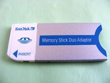 MemoryStick Duo Adapter ( Memory Stick PRO Duo Adapter ) Neu