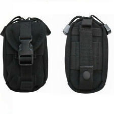 BLACK Tactical Molle Ipouch IPhone Blackberry Camera Case Cover Pouch Bag