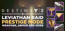 Destiny 2 Prestige Leviathan Full Raid with challenge on PS4 only very cheap