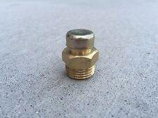 "1/2""-14 NPTF Pressure Breather Vent Brass Plug Rhino 00758654"