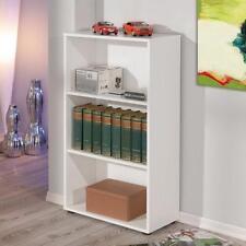 13500020 Regal Bücherregal Stauraumregal weiss Arco 2 BxHxT 60 x 110 x 30 cm