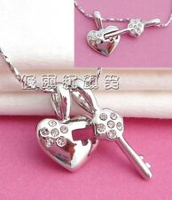 New Korean Fashion Key to My Heart Necklace Very Cute!
