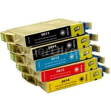 5 CiberDirect T0611 T0612 T0613 T0614 Ink Cartridges to fit Epson Printers