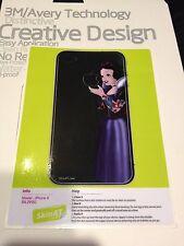 @US SELLER@  Creative Design snowwhite Back Sticker protector for iPhone 4/4s