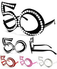 1 pair FIFTY 50'S NOVELTY PARTY GLASSES  sunglasses #273 men women eyewear new