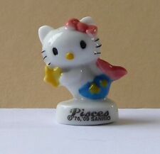 Fève Zodiaque d' Hello Kitty - 2010 - Kitty Pisces