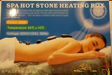 18 Hot Spa Rock Basalt Stone Kit Heater Massage Therapy Natural Rocks