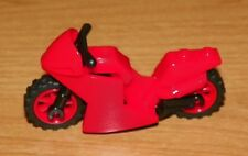 LEGO - Minifig, Utensil, Motorcycle Fairing Style (Small) - Red w/ Red Wheels