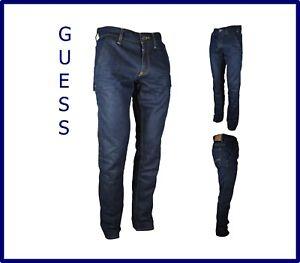 GUESS jeans denim da uomo slim fit elasticizzato tasca america gamba dritta w29