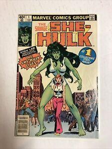 Savage She-Hulk (1980) # 1 (Good) Origin & 1st app | Newsstand