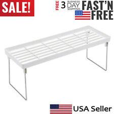 New listing Kitchen Bathroom Countertop Storage Organizer Shelf Holder Rack Standing Rack