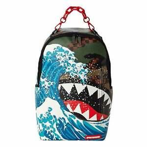 Sprayground | Camokawa Wave Checkered Shark Backpack - Camo