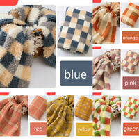 "Faux Fur Fleece Throw Soft Warm Fabirc For Cloth Sofa Bed Blanket Craft 63""width"