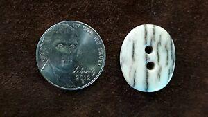 "Rocky Mountain Elk Antler Buttons 3/4"""