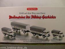 1/87 Wiking set brasserie DAB Hanomag Opel Krupp 990 74