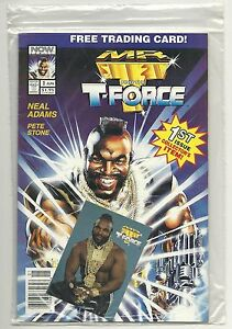 Mr. T and the T-Force #1 (1993 NOW Comics) sealed poly bag ,High grade .