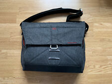 "Peak Design Everyday Messenger 15"" Charcoal Camera DSLR Mirrorless Gear Bag"