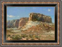 """Hand painted Original Oil Painting art Landscape mountain on canvas 24""""x36"""""""