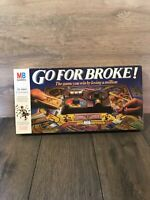 Go For Broke! (Vintage Board Game, 1985 MB Games) Preloved and Boxed