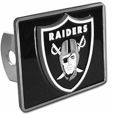 Oakland Raiders Rectangle Logo Trailer Hitch Cover ~ New