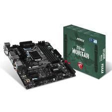 MSI Z170M MORTAR LGA 1151 Intel Z170 HDMI SATA 6Gb/s USB 3.0 uATX Intel