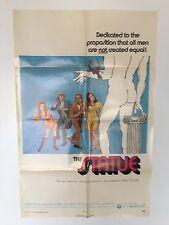 THE STATUE 1971 ORIGINAL MOVIE POSTER DAVID NIVEN 1 SHEET 27 X 41