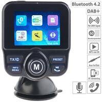 auvisio DAB+ Auto Radio Empfänger FM-Transmitter Bluetooth Freisprecheinrichtung