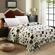 Plaid Soft Blanket Warm Comfortable Throw Blankets Winter Bed Sheet Light Cover