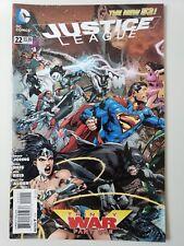 JUSTICE LEAGUE #22 (2013) DC 52 COMICS TRINITY WAR Part 1 IVAN REIS ART! NM