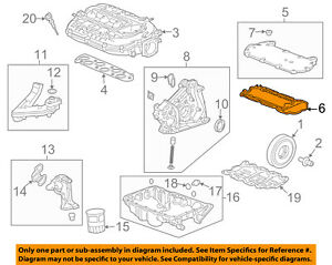 HONDA OEM Intake-Manifold Plenum Gasket 17146R70A01