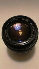 Olympus OM-system G.Zuiko 50mm F1.4 manual focus lens