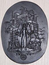 Buderus Jahresplakette 1950 - Welt der Arbeit - Plakette mit Jahreszahl
