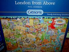 *LONDON FROM ABOVE* GIBSONS 500 PIECES JIGSAW PUZZLE. NEW!